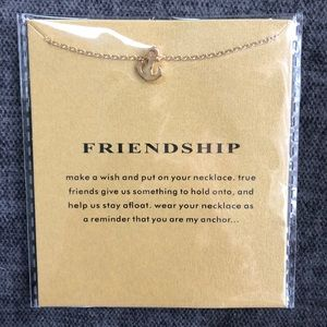 Jewelry - ⚓️ Friendship Anchor 14k gold dipped necklace